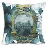 Mrs Pillow Andrea İ 02 Desenli Kırlent Kılıfı 70x70cm Ebadınd