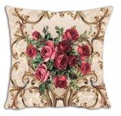 Mrs Pillow Andrea D 20 Desenli Kırlent Kılıfı 70x70cm Ebadına