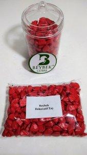 300 gr Beybek Teraryum / Dekoratif Taş Kırmızı-2