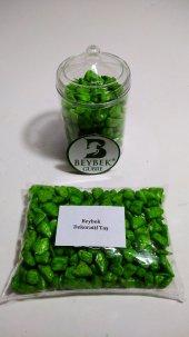 300 gr Beybek Teraryum / Dekoratif Taş Yeşil-2