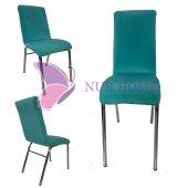Lastikli Sandalye Kılıfı Su Yeşili Mutfak Tipi M2 (Renk 23)