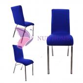Lastikli Sandalye Kılıfı Saks Mavisi Mutfak Tipi M2 (Renk 4)