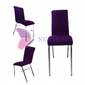 Lastikli Sandalye Kılıfı Mor Mutfak Tipi M2 (Renk 10)
