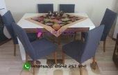 Nur Home Gri Renk Sandalye Kılıfı