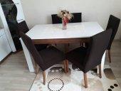 Nur Home Koyu Kahve Sandalye Kılıfı (Renk 2)