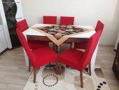 Nur Home Kırmızı Renk Sandalye Kılıfı (Renk 6)