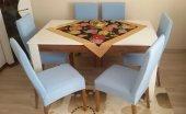 Nur Home Açık Mavi Sandalye Kılıfı (Renk 21)