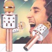 Ws 858 Sihirli Karaoke Mikrofon Bluetooth Kablosuz...