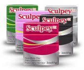 Sculpey III Polimer Kil 57 g. Fırınlanabilir Fil Gri S3021645-2