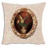 Mrs Pillow Andrea D 15 Desenli Kırlent Kılıfı 70x70cm Ebadında