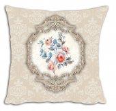 Mrs Pillow Andrea D 11 Desenli Kırlent Kılıfı 70x70cm Ebadında
