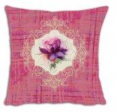 Mrs Pillow Andrea D 9 Desenli Kırlent Kılıfı 70x70cm Ebadında