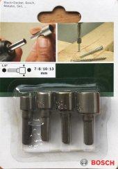 Bosch Bits Lokma Uç Seti 4 Lü 7 8 10 13 Mm