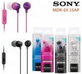 Sony Mdr Ex15ap Kulaklık Kulakiçi Mikrofonlu...