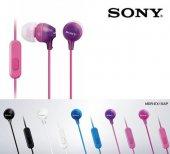 Sony MDR-EX15AP Kulaklık Kulakiçi Mikrofonlu Comfortable 5 Renk-4