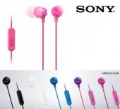 Sony MDR-EX15AP Kulaklık Kulakiçi Mikrofonlu Comfortable 5 Renk-5