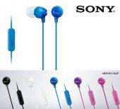 Sony MDR-EX15AP Kulaklık Kulakiçi Mikrofonlu Comfortable 5 Renk-6
