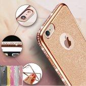 Iphone 6 Plus Kılıf Simli Swarovki Taşlı Laser...
