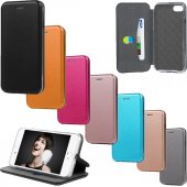 iPhone 8 Plus Kılıf Flip Dizayn Mıknatıslı Standlı Cüzdan-2