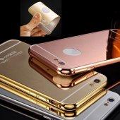 Samsung S3 Kılıf Metal Bumper Aynalı Sürgülü...