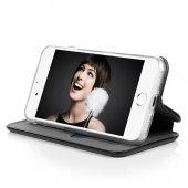 iPhone 8 Plus Kılıf Flip Dizayn Mıknatıslı Standlı Cüzdan-4