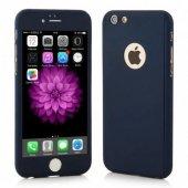 iPhone 5 6 7 8 X Plus Kılıf 360 Tam Koruma Ön Arka Kapak-5
