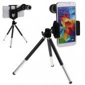 8x Optik Zoom Kamera Lens Seti Teleskop...