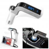 Bluetooth Fm Transmitter Araç Kiti Mp3 Çalar Usb Şarj Aux Girişli