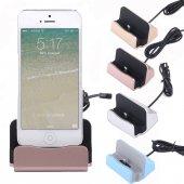 Apple İphone 6 İphone 6 Plus İphone 5 Masaüstü Dock Şarj Cihazı
