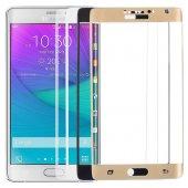 Samsung Galaxy Note 4 Edge Kavisli Ekran Koruyucu !! 4 RENK !-2