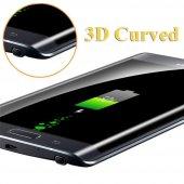Samsung Galaxy Note 4 Edge Kavisli Ekran Koruyucu !! 4 RENK !-5