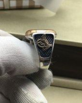 925 Ayar Taşlı Gümüş Yüzük-4