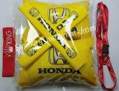 Honda YASTIK LASTİKLİ 2 Lİ VE 2 KEMER KILIFI+ayna ipi ve tampon