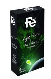 Fe Night Vision Gece Görüş Prezervatif 12li