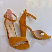 Topuklu Günlük Bayan Sandalet Ayakkabı