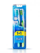 Oral B Fırca Adv.3d Whıte 1+1 40 Medıum
