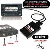2007 Ford Fiesta Usb Aux Aparatı Audio System Frd...
