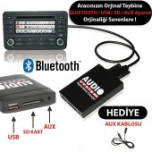 2001 BMW 3 E46 Bluetooth USB Aparatı Audio System BMW1 4:3 Naviga