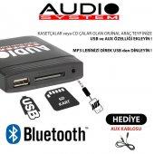 2003 Toyota Matrix Bluetooth USB Aparatı Audio System TOY1-2