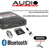 1998 Honda Civic Bluetooth USB Aparatı Audio System HON2.3-2