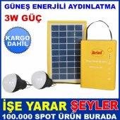 Solar Güneş Enerji Panelli Aydınlatma Sistemi Kd