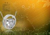 KALPLİ YÜZÜK KOLYE SEVGİLİLER GÜNÜNE ÖZEL GÜMÜŞ KAPLAMA SWAROVSKİ-3