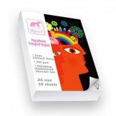 Cescesor Rovi Fine-Art Yapışkanlı Fotoğraf Kağıdı A6 200gr 100Ade