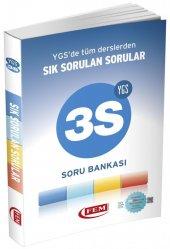 YGS 3S Sık Sorulan Sorular Soru Bankası