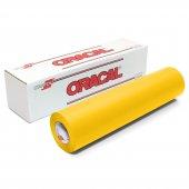 Oracal 641 Seri Mat Sarı Yapışkanlı Folyo (126cmx1mt)-Ragle Hediy