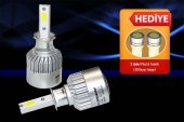 H3 Xenon Led Far Headlight 6000k Lumen 36w