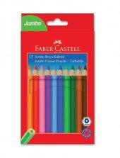 Faber Castell -Jumbo Kuru Boya 12li