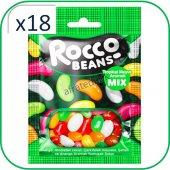 Rocco Beans Tropik Meyveli Yumuşak Şekerleme 40...