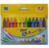 Bic Kids Triangle Üçgen Mum Pastel Boy 12 Li