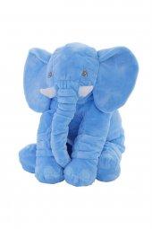 70cm Uyku Arkadaşım Büyük Mavi Fil Peluş...